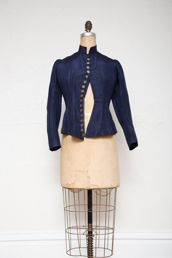 1800s Victorian Top . Antique Blouse - image 1