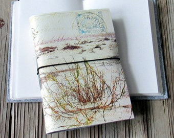 from afar journal- inspired by nature and vintage french letters, travel journal, inspire journal,  gifts under 30