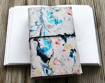 Flow 2 Journal - original art cover for travel vacation life plan journaling - tremundo