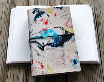 Flow Journal - original art cover for travel vacation life plan journaling - tremundo