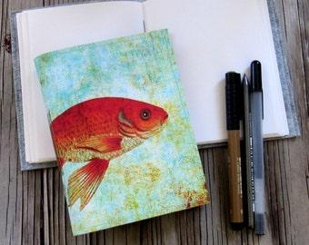 fishy fish journal a travel inspirational journal gift under 20 by tremundo