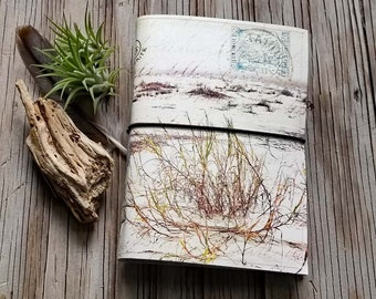 large - from afar journal- diary notebook, vintage inspire friendship personal diary - tremundo