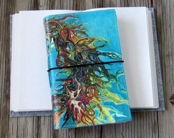 Inside Journal - life journal, dream diary, feelings journal, art journal, sketchbook, art notebook, travel diary, journal gift