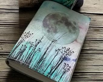 field of dreams journal - unique handmade journal notebook diary, graduation gift, birthday gift - tremundo