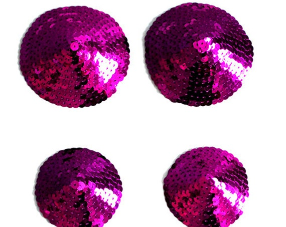 Fuchsia Sequin Pasties