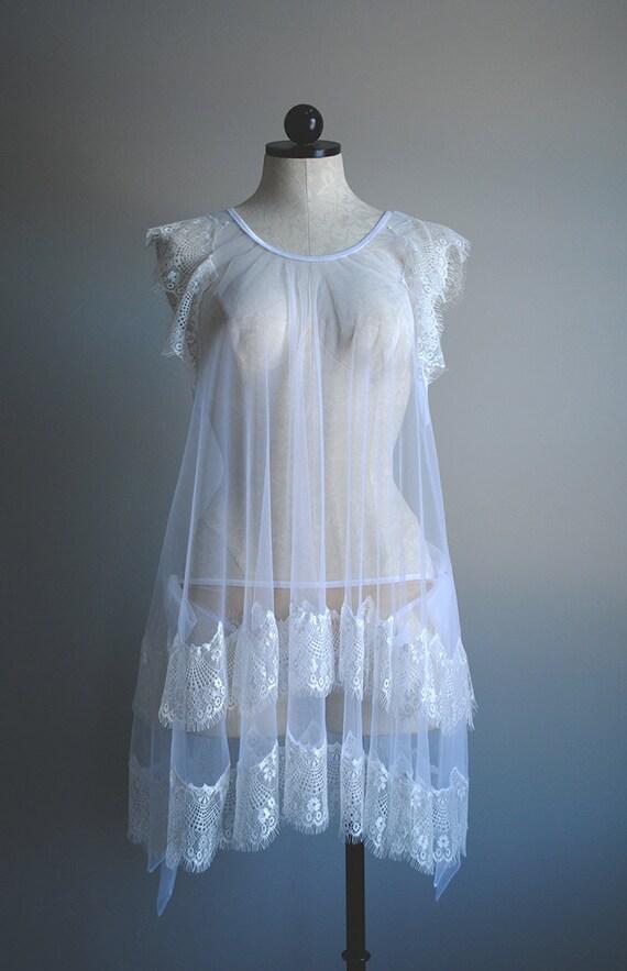 Aurai Babydoll - Sheer White