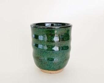 Clay Planter, Espresso Mug, Succulent, Mini Planter, Ceramic Pot