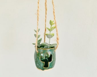 Car Mirror Hanging Plant, Office Plant, Car Accessory, Fake Plant