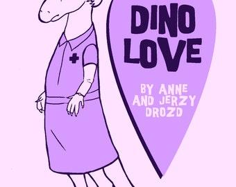 Dino Love mini-comic