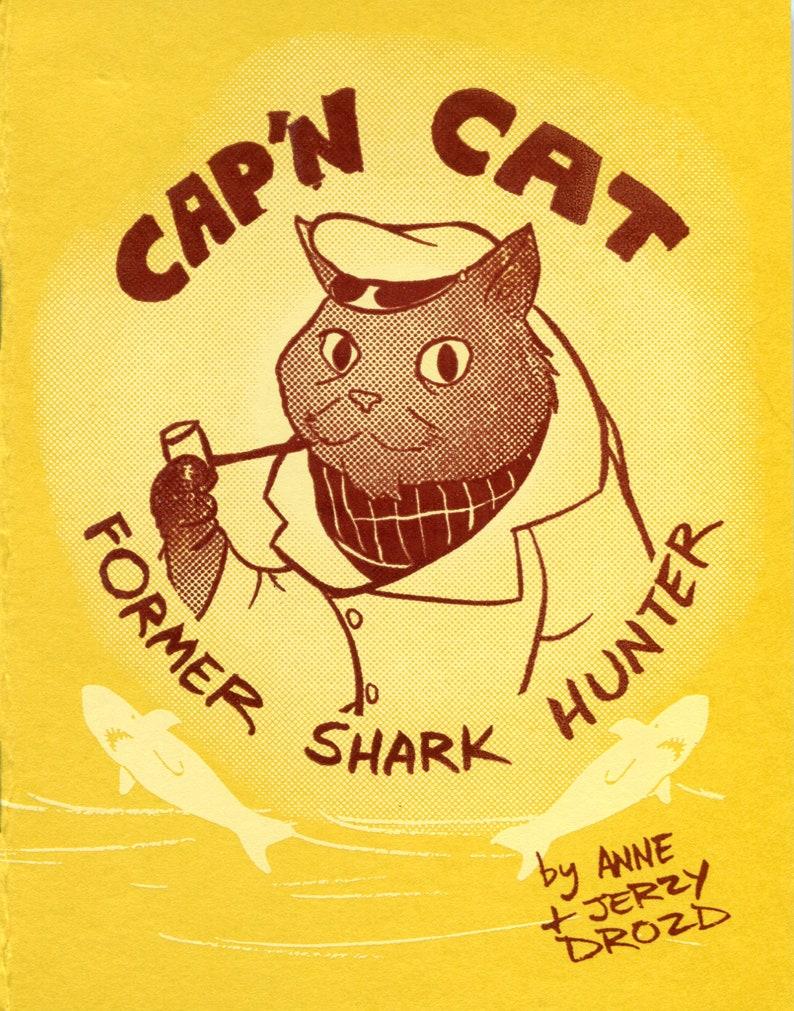 Cap'n Cat: Former Shark Hunter Mini-Comic image 0