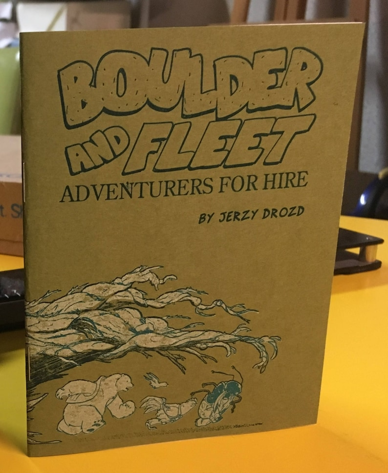 Boulder and Fleet: A Friendly Game image 0