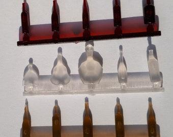 Wine/Spirit Bottles for Dollhouses & Dioramas