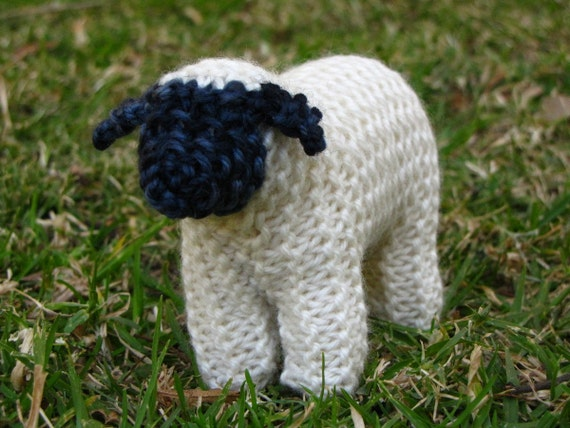 Waldorf Toy Suffolk Sheep Knitting Pattern Pdf Digital Etsy