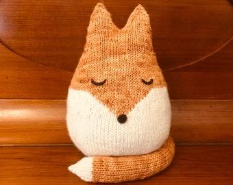 Felix the Fox, Knitting Pattern, PDF Download