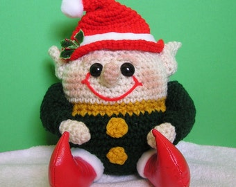 PUDGY ELF PDF Crochet Pattern (English only)