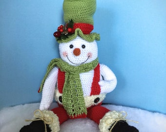 JACK MCFREEZE PDF Crochet Snowman pattern (English only)
