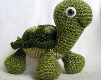 BABY TURTLE PDF Crochet Pattern (English only)