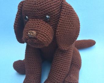 CHOCOLATE LAB PDF Crochet Pattern (English only)