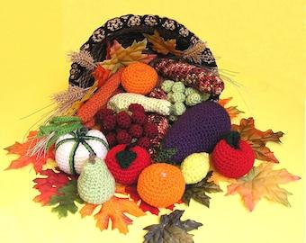 CORNUCOPIA PDF Crochet pattern (English only)