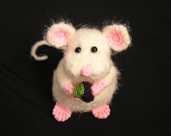 Pdf Crochet Pattern PUDGY LITTLE MOUSE (English only)