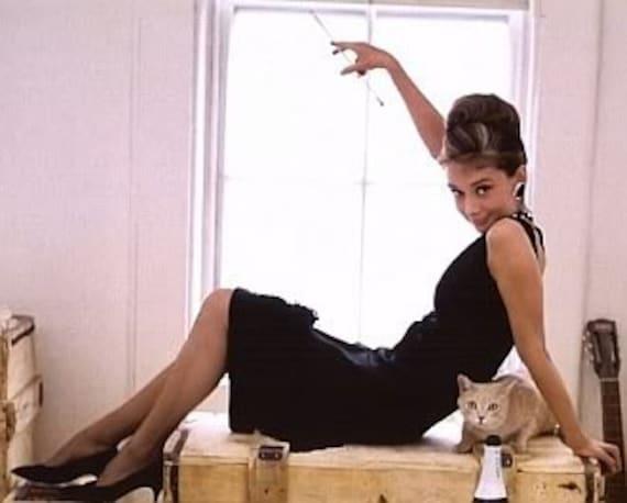 Audrey 60s Little Black Dress - image 2