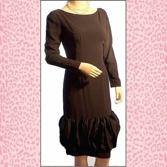 Audrey 60s Little Black Dress - image 1
