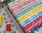 30s PLAYTIME Chloe 39 s Closet 30s Feedsacks Vintage Repro Moda Fabrics 16 Fat Quarters Bundle 4 yards total