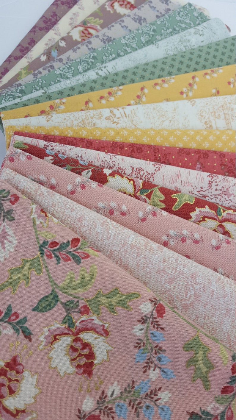 MADAME FLEUR Jera Brandvig Lecien Japanese Cotton Fabrics  16 image 0
