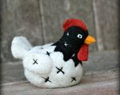 Chicken Felting Kit - Needle Felting Kit - DIY Kit - Craft Kit - Felting Supplies - DIY Craft Kit - Starter Kit - Needle Felted – Beginner