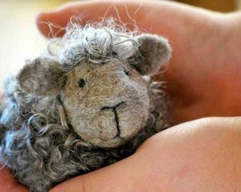 Black Sheep Felting Kit - Needle Felting Kit - DIY Kit - Craft Kit - Felting Supplies - DIY Craft Kit - Starter Kit - Needle Felted