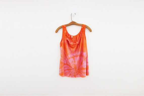 vintage 60s Upcycled Hand Dyed Vampires Lust Marbl