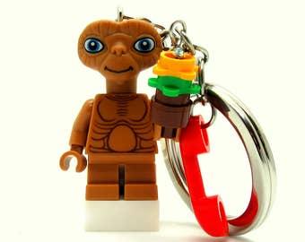 E. T.® Inspired Keychains  Fan Art - Fan Art Crafted From LEGO® Elements