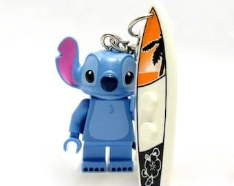 Stitch® Inspired Keychains  Lilo & Stitch® Fan Art - Fan Art Crafted From LEGO® Elements