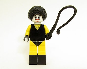 Dr. Frank-n-Furter® Custom Figure, Keychain or Necklace Options - Fan Art Crafted From LEGO® Elements