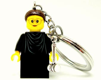 Ruth Bader Ginsburg Custom Figure, Keychain or Necklace Options *SALE* Fan Art Crafted From LEGO® Elements