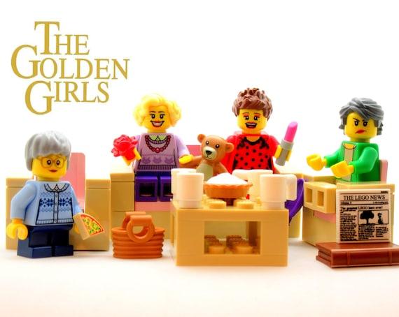 Golden girls lego set