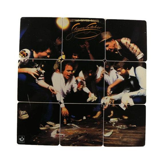 Little River Band Reclaimed 1978 Sleeper Catcher Record Album 10 Piece Rock Music Album Coaster Set