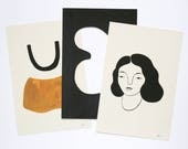 Body Shapes Print Pack — Three Mini 4x6 Prints