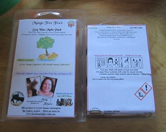 Mango Tree Fruit Scented Soy Wax Melts Pack