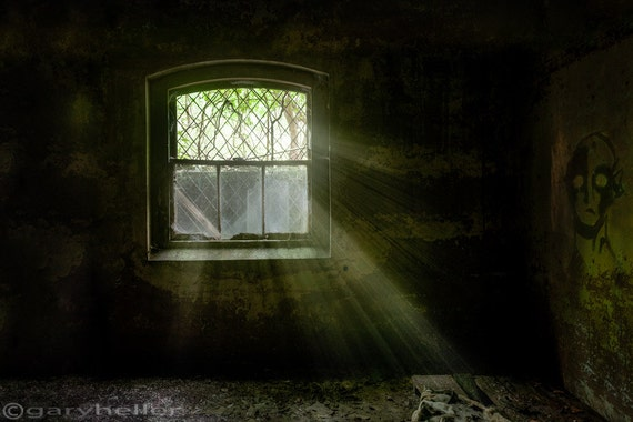 Darkness Revealed Old Room In The Basement Of An Asylum Etsy