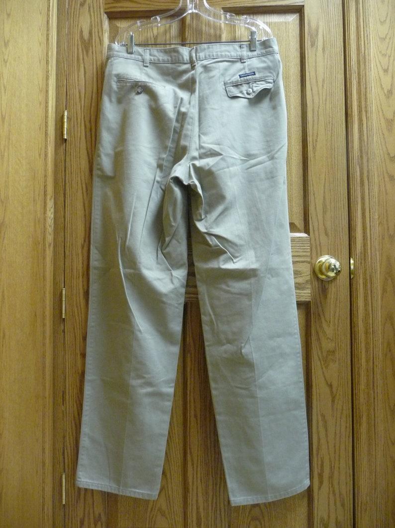 USED Denver Hayes Men/'s Cotton Tan Pants
