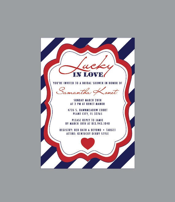 f4978d85f50 Bridal Shower Invitation Vintage Antique Rustic Nautical