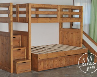 Bunk Bed With Slide Etsy