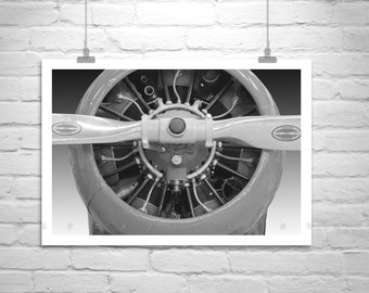 Gift for Pilots, Airplane Wall Art, Aviation Decor, Airplane Decor, Vintage Aircraft Picture, Aeronautical Art, Aviator Gift, Aircraft Art