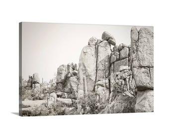 Desert Photography, Cactus Landscape Art, Southwestern Art, Cactus Art, Sonoran Desert Picture, Arizona Landscape Photograph, Arizona Gift