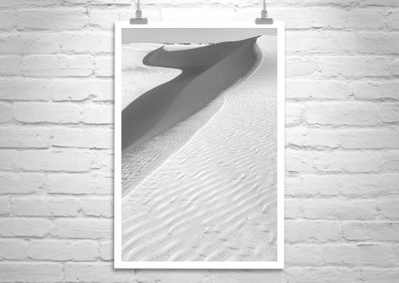 Southwest Decor, Southwestern Art, Desert Sand Dunes Picture, New Mexico  Landscape Photography