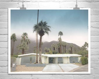 Mid Century Wall Art, Palm Springs Picture, Midcentury Art Photography, Midcentury Architecture Art, Palm Springs Gift, Mid Century Picture