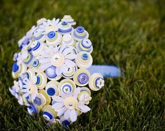 Daisy Path Button Bouquet