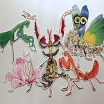 Mantis Magic Sticker Set - Set of 5
