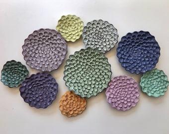 "Wall Flower Cluster - ""Bouquet"""
